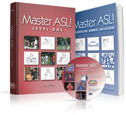 Master ASL! Textbook & DVD Package